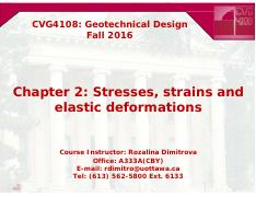 CVG4108_Ch2_Stresses and Strains