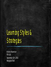 Learning Styles & Strategies.pptx