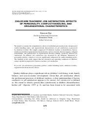 Thesis job satisfaction trung hai company ResearchGate