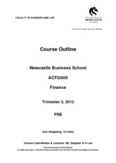ACFI2005 Course Outline PSB Trimester 3 2013 II Approved 13.08.13