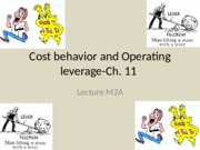 Lecture M2A-Cost behaviorOp.Leverage