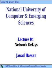 Lecture+04-Network+Delays.ppt