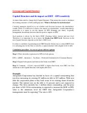 Capital Structure and its Impact on EBIT - Example.pdf