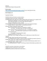 MISY160-study guide for test 4_28.docx