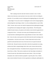 Plato's apology essay