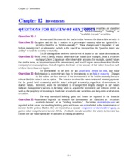 CHAPTER 12 SOLUTIONS