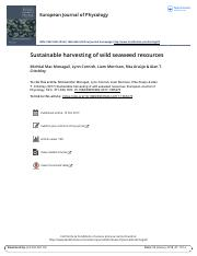 Sustainable harvesting of wild seaweed resources.pdf