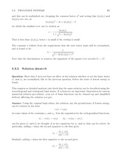 Fund Quantum Mechanics Lect & HW Solutions 83