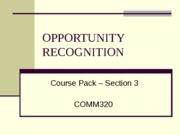CoursePack-Section3-OpportunityRecognition
