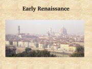 02 Early Renaissance