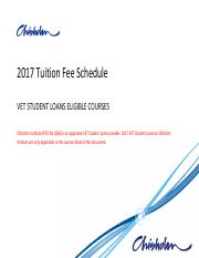 2017 Tuition Fee Schedule VET Student Loans.pdf