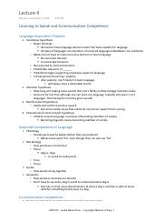 04 - ANT102 - Aashir Khan - Lecture Notes - Copyright Material ©