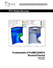 ProE_structure_thermal
