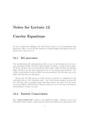 Lecture12-Carrier-Equations