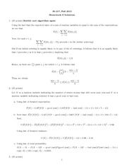 Homework 8 Questions and Solutions
