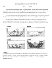 Printables Ecological Succession Worksheet ecological succession worksheet name
