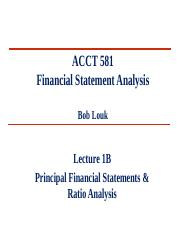 L1B - Financial Statements & Ratio Analysis-Louk
