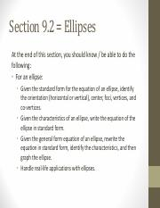 Section 9-2 ellipses - AP - Fall2015.pdf