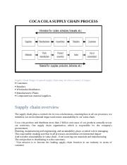 COCA COLA SUPPLY CHAIN PROCES1.docx