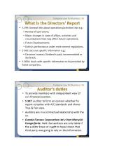 Auditor's Report & Auditor's Duties.docx