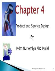Chapt4 Product and Service Design.ppt
