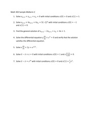 Math303SampleMidterm2