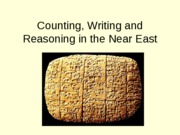 Counting++Writing+and+Reasoning+in+the+Near