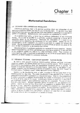 Continuum Mechanics- Mathematical Foundations