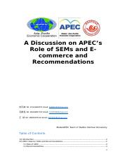 A Discussion on APEC.docx