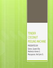 TENDER-COCONUT-PEELING-MACHINE