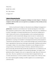 MGMT3001- Ch. 2 Discussion Question.docx