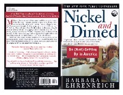 barbara ehrenreich - nickel and dimed
