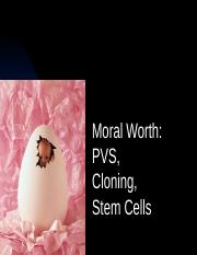 6 Human Cloning and Stem Cells