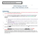 Reagan – Bio 102 Lab – Lab 2 Answer Form).