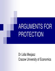 Arguments for protection.pdf
