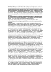 essay on victimology Research proposal on victimology paper details: this paper should be written in proposal form it should be three pages in total these three pages should be a title page, a reference page, and a one page proposalyou must find canadian references (you can use a few others as well.