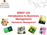 7-Operations Management