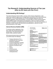 Types Of Tax Regulations There Are Three Types Of Tax