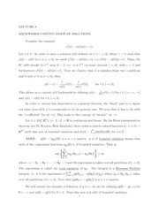 Lecture 8 Notes and Solution