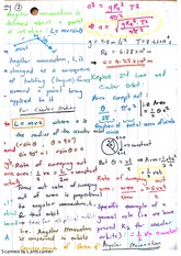 Angular Momentum for Circular Motion Exam Revision Notes