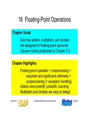 Chapter 18 Floating-Point Operations.pdf