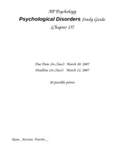 Disorders_Study_Guide