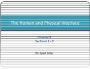 09 Chapter 8 - Human Physical Interface