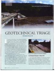 Geotechnical Triage Article