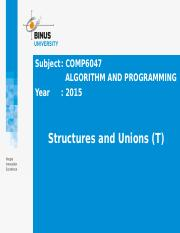 Z00810010220144069COMP6047[T] Pert 24 - Structure & Union.pptx