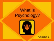 Chapter 1_What is Psychology (handouts)0