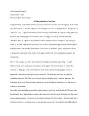 Self-introduction of a writer.docx