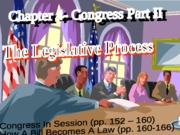 4-Congress-Part II-How Law Is Made