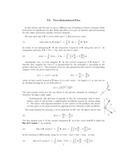 two dimensional flux study guide