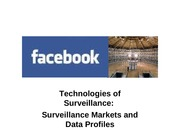 10 Network Technology and Participatory Surveillance Markets